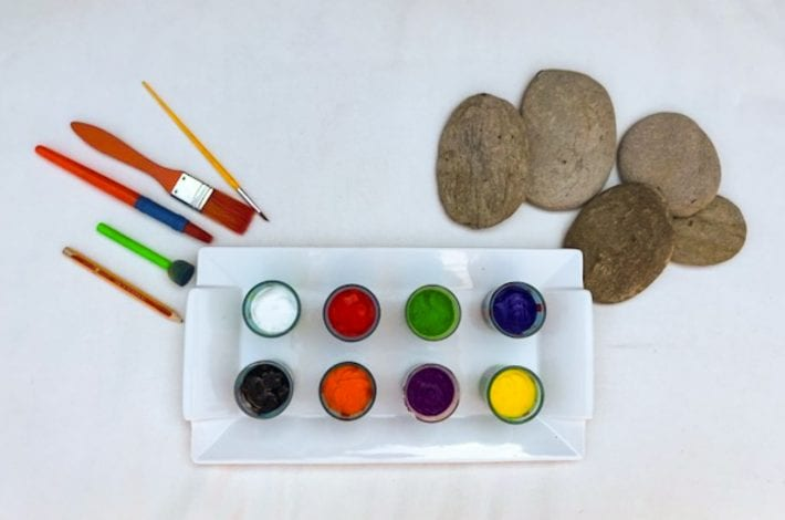 Rock Craft - Ladybird Pebbles - What You Need