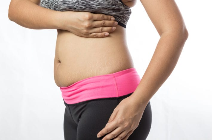 new mother belly postpartum recovery