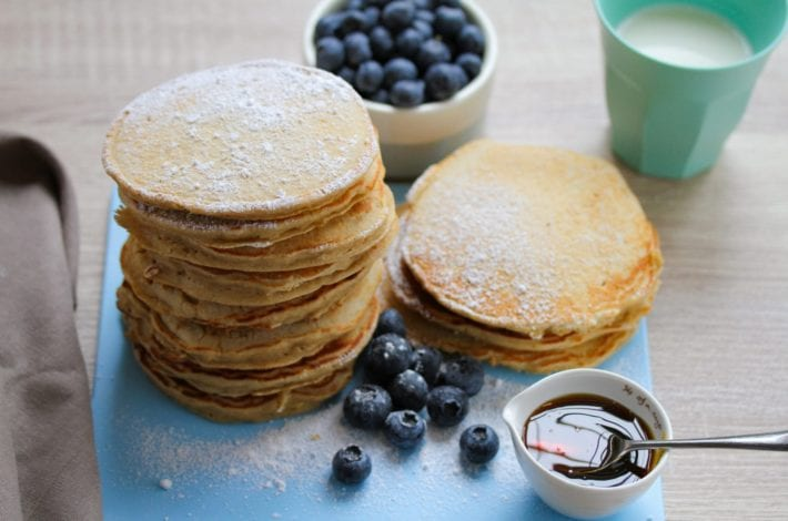 Best pancake recipe - gluten free pancakes - sunday pancakes for kids 3