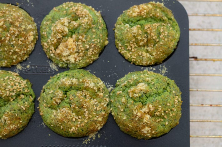 Feta cheese and spinach muffins - make this nutritious snack with these spinach and cheese muffins - tasty savoury muffins