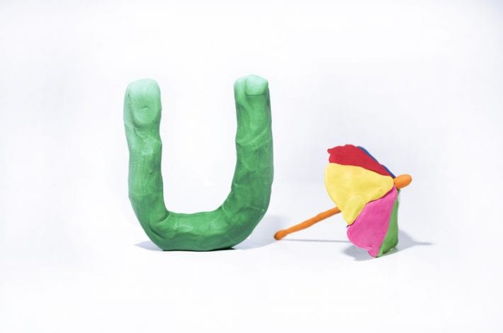 Letters in play doh - fun ways to teach letters