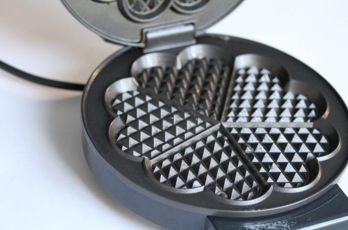 Vegetable waffles - waffle iron