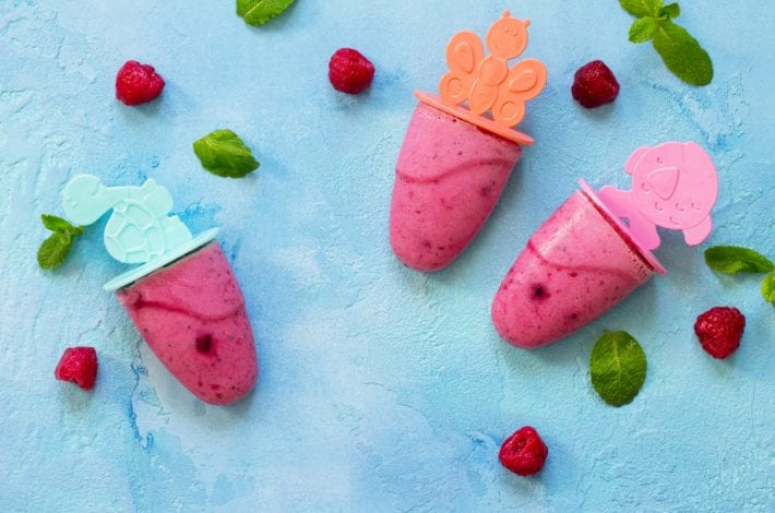 home made ice lollies for teething baby