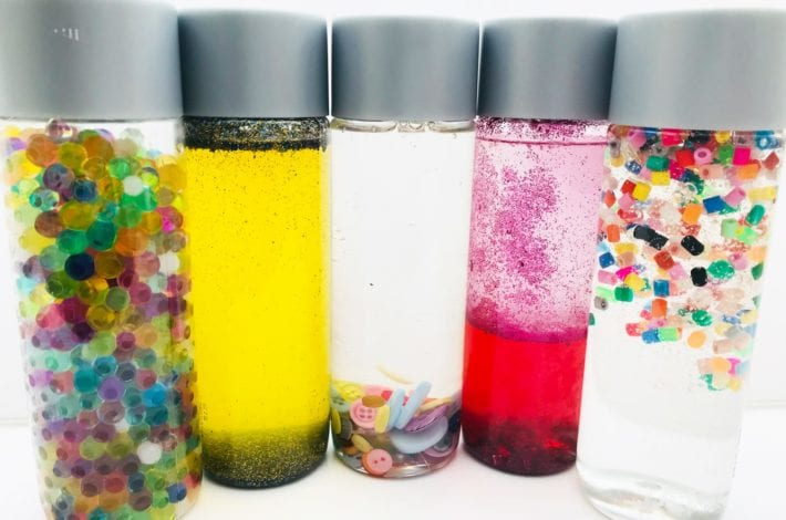 sensory bottles feature image
