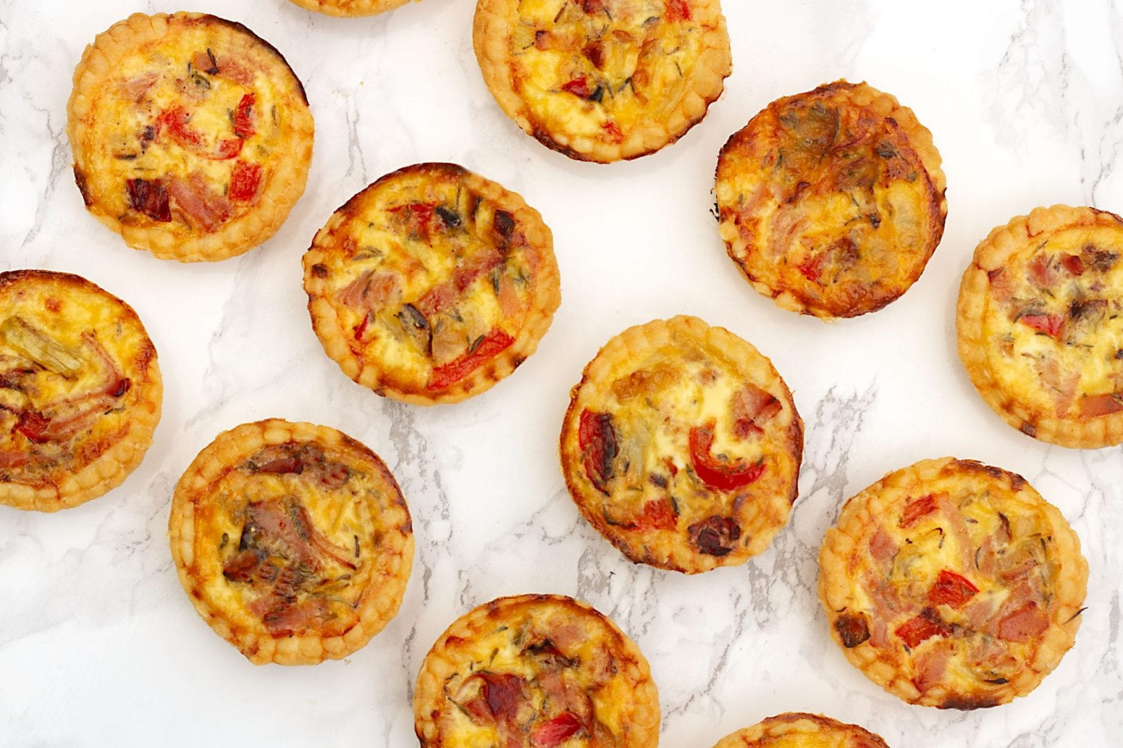 Quiche for kids - ham and cheese quiche - packed lunch recipes