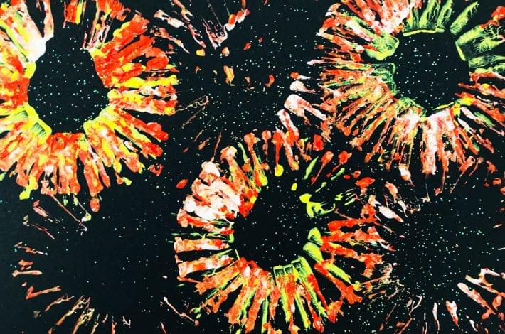 fabulous fireworks prints - fireworks craft