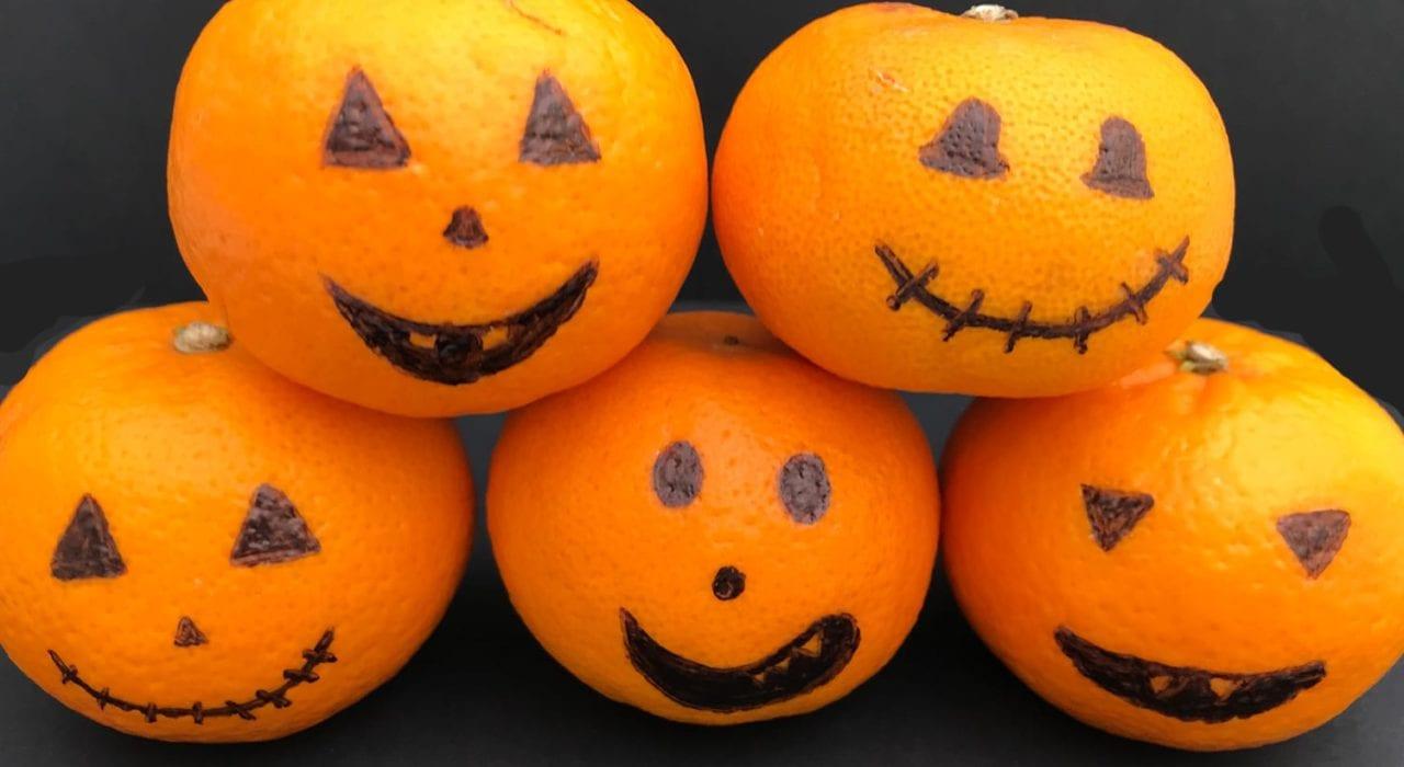 satsuma pumpkins - halloween decorations