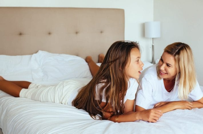 child to talk - questions to get your tween talking