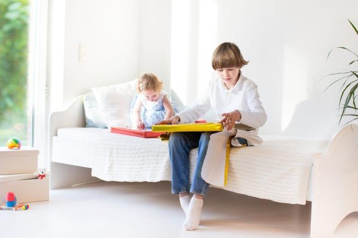 share a bedroom - kids sharing room