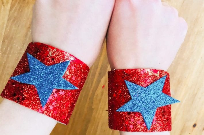 superhero cuffs - boys crafts