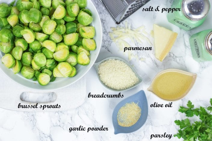 Brussels sprouts - a tasty brussel sprouts side dish for family dinners or Christmas lunch