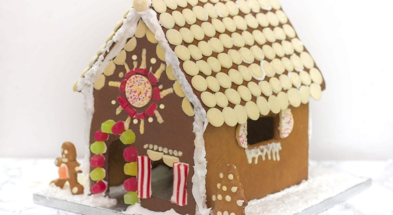 Gingerbread house, festive recipes, Christmas recipes