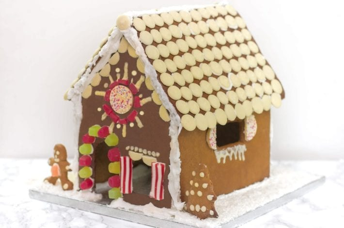 Gingerbread house, festive recipes, Christmas recipes