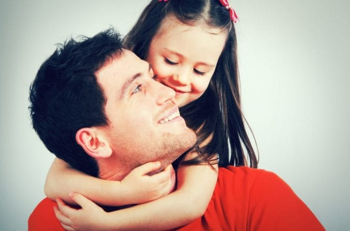 Involved dads - dads caring for kids