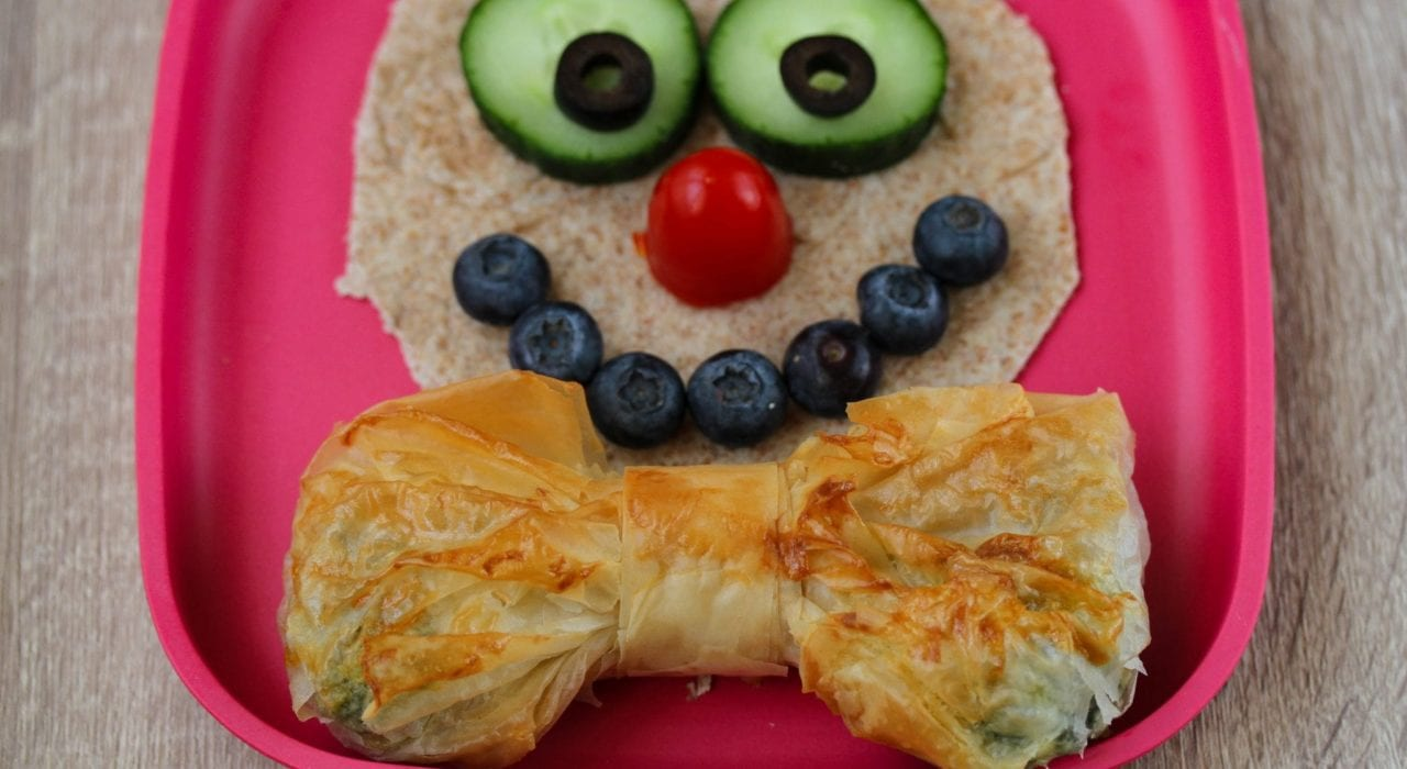 Spinach pie - healthy kids recipes - entertaining recipes