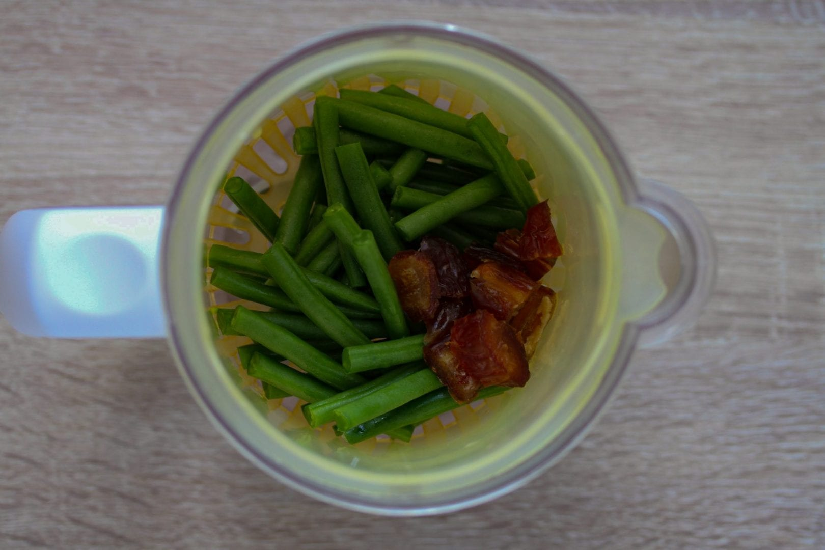 baby's first foods - pork recipe for baby - green bean recipe for baby