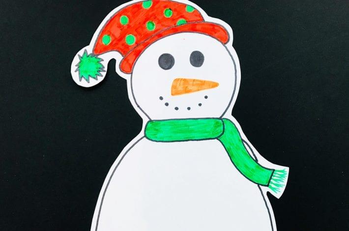 snowman bingo - sounds game