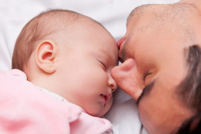 Becoming a dad for the first time - surprising changes to a mans brain when he becomes a father