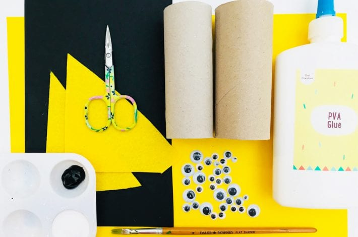 Loony penguins - try our toilet paper roll penguin craft with the kids