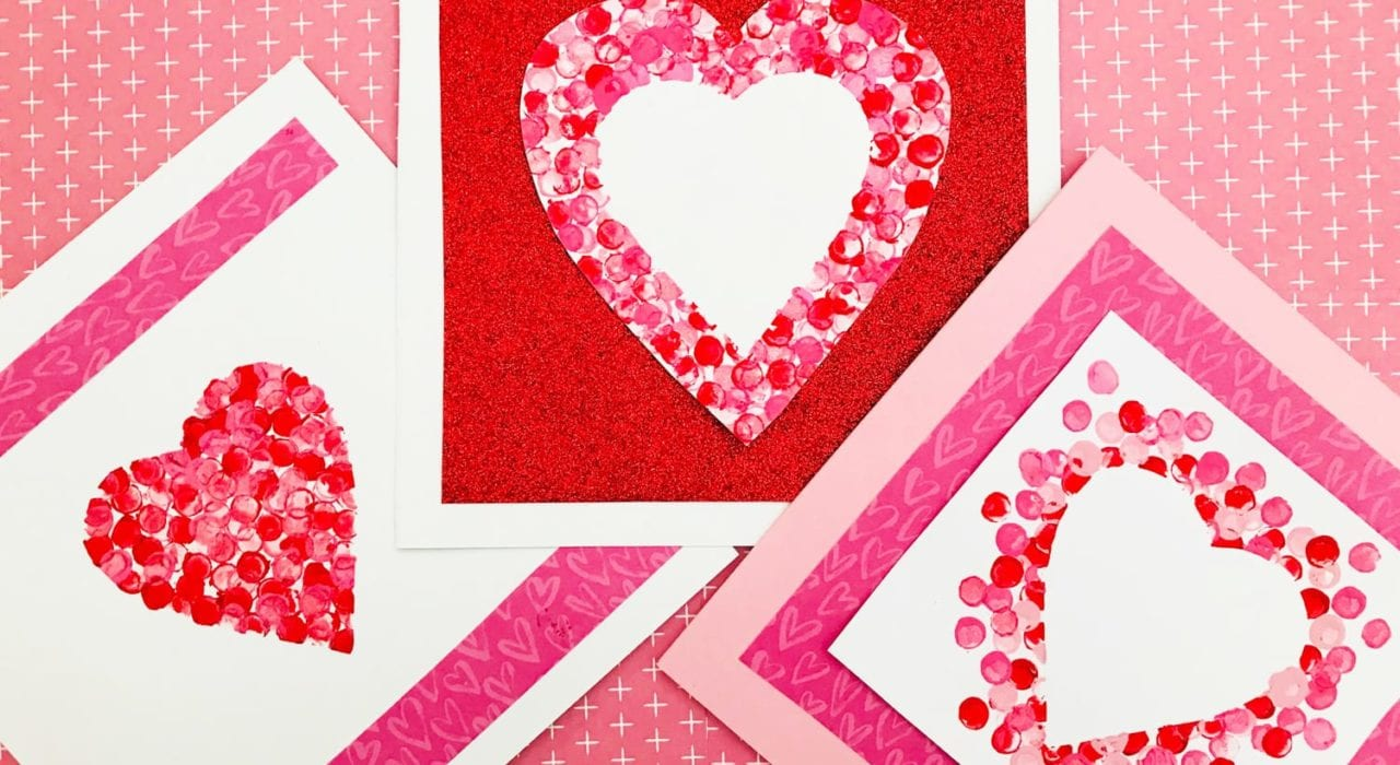 Valentine cards preschoolers can make - How to make valentines cards