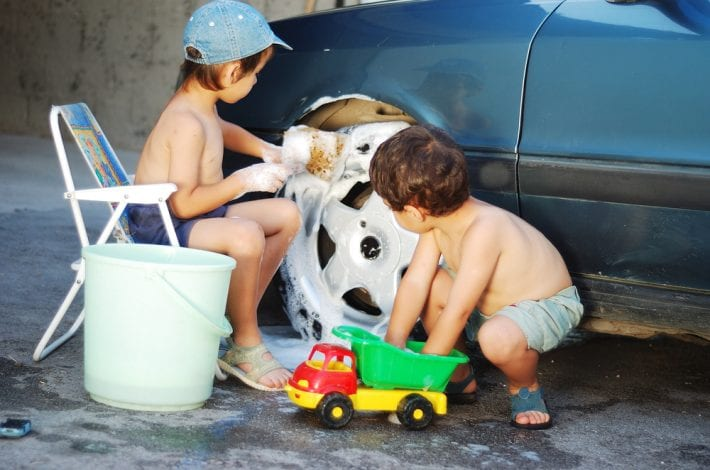 kids helping around the house - 10 stress free ways to get kids to help with the chores