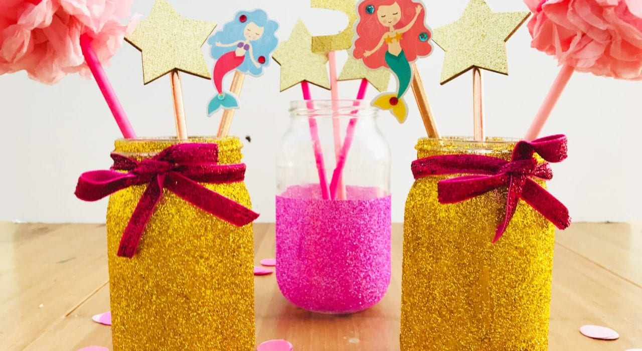 Girls Party Centrepieces