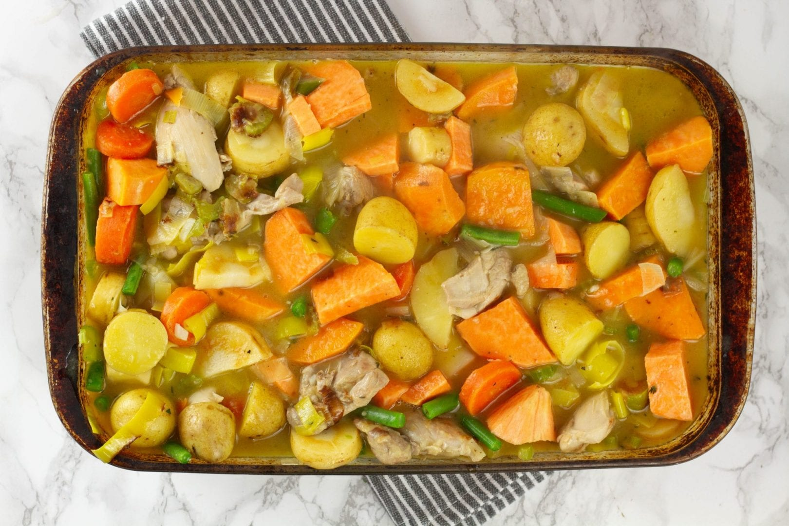 Slow cooker chicken stew - try this delicious recipe for family dinners