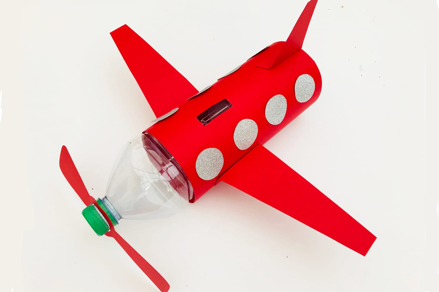 airplane craft for kids - make this fun airplane piggy bank