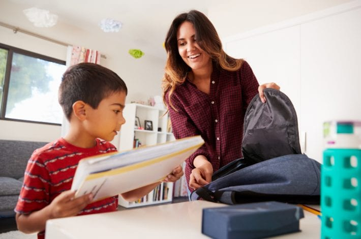 Try our 12 best school morning routine hacks to help kids get ready quicker, and to get you out the door on time. Make the school morning routine a breeze.