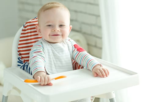 Baby led weaning foods by age - see which foods are best for baby at each stage of weaning - help them to enjoy finger foods