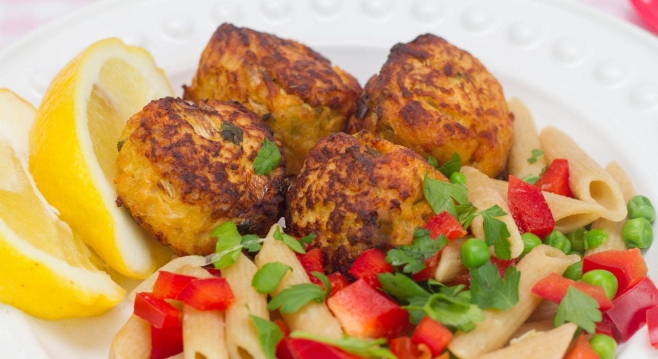 Chicken balls - try these delicious pear and quinoa chicken balls for a healthy and tasty kids meal
