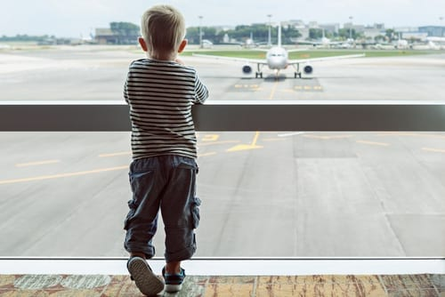 Flying with a toddler - 12 things that are guaranteed to happen when travelling with young children