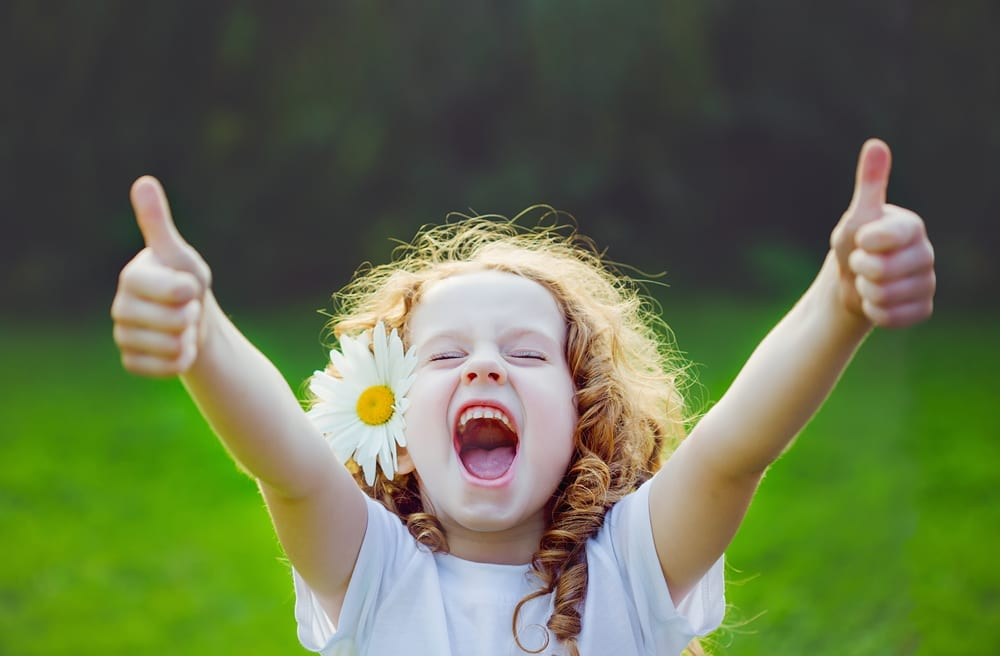 HELP kids think positive with these positive parenting skills to help raise positive thinking kids