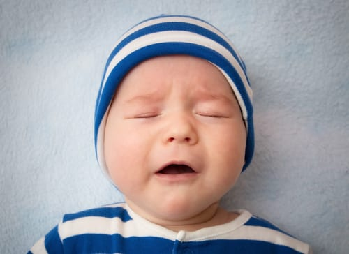 How your baby crying in sleep can mean a number of different things and can be normal