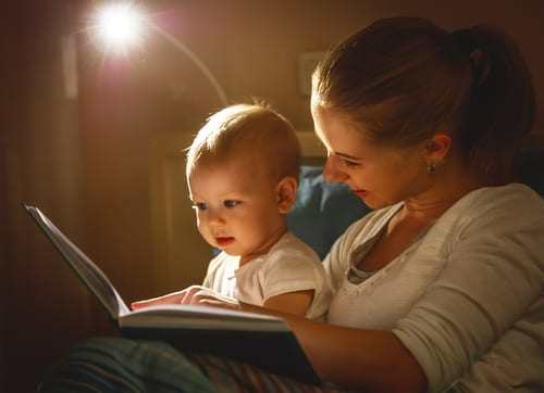 Make a great baby bedtime routine with our 10 tips for calm and relaxing bedtimes with baby