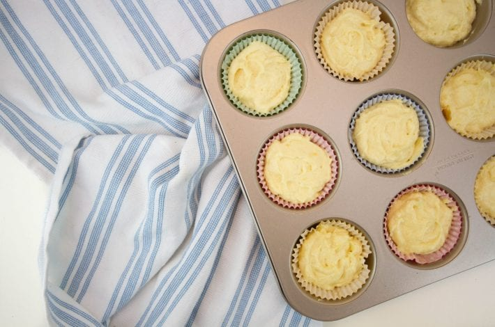 classic lemon drizzle cupcakes - a quick and easy home baking recipe that you can enjoy with the kids to make moist lemon cupcakes