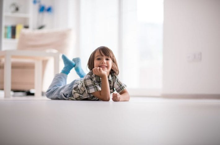 MINIMALISM with kids - how to keep your home free from clutter when raising a family