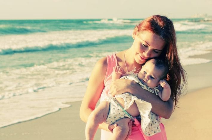 Travelling with a newborn baby - what to pack - where to stay and 17 things to consider