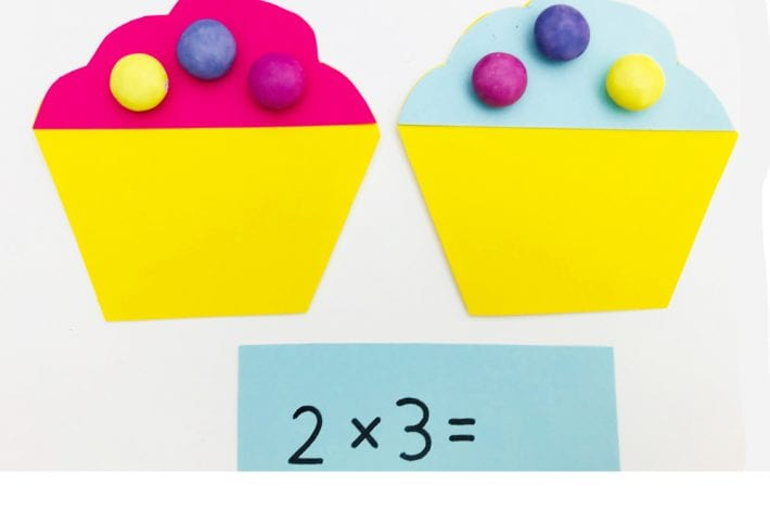 Cupcake times table game - learning fun for kids