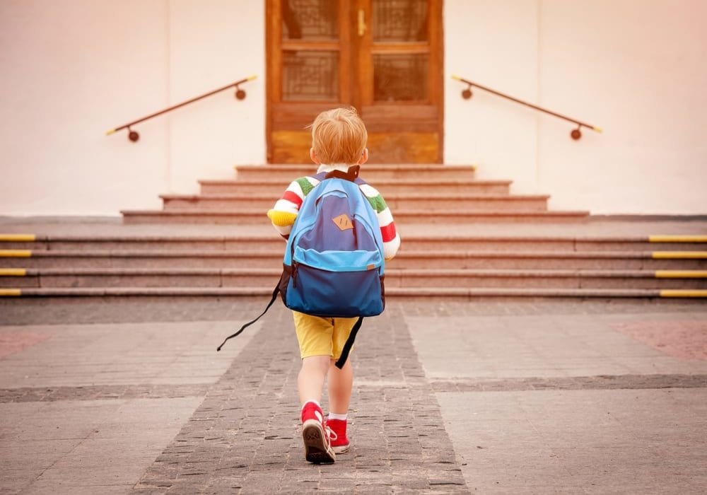 How to make the first day of school stress free and how to prepare your child for the first day of school