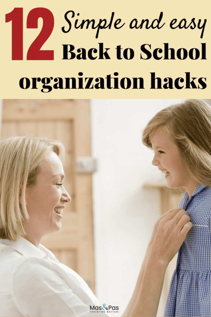 Start the school year with these smart back to school organisation hacks to help you save time and stay organized