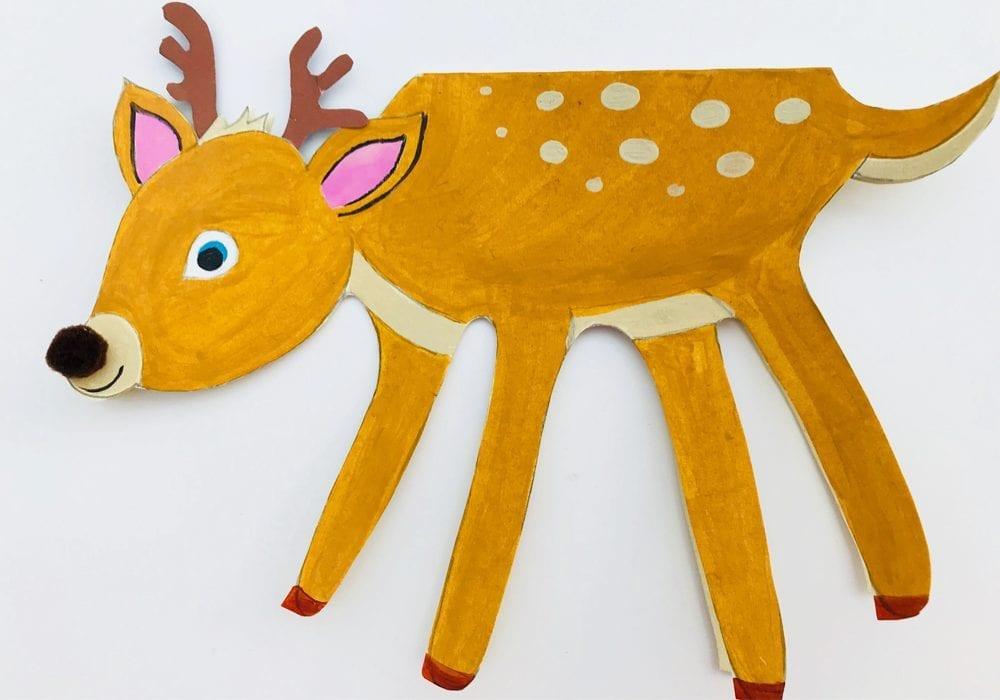 Reindeer Christmas Cards Hand Prints.Deer Handprint Christmas Cards Kids Crafts Mas Pas